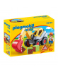 Pelleteuse Playmobil 1.2.3 - 18m+