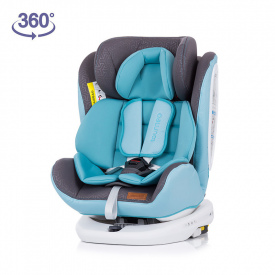 Silla de coche 360º ISOFIX Tourneo Gr. 0+/1/2/3 - Azul Baby