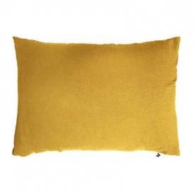 Fd. de almohada Gasa de algodón Azafrán - 50x70cm