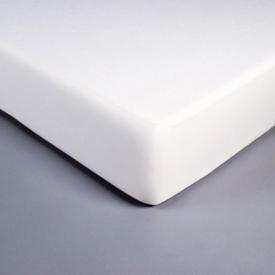 Protección colchón polialgodón Blanco - 160x200cm