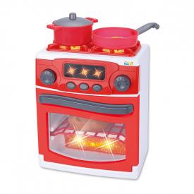 Cocina/horno sonido & luz Rojo/Blanco - 36m+