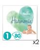 160 Couches Harmonie T.1/2-5kg - 2x80